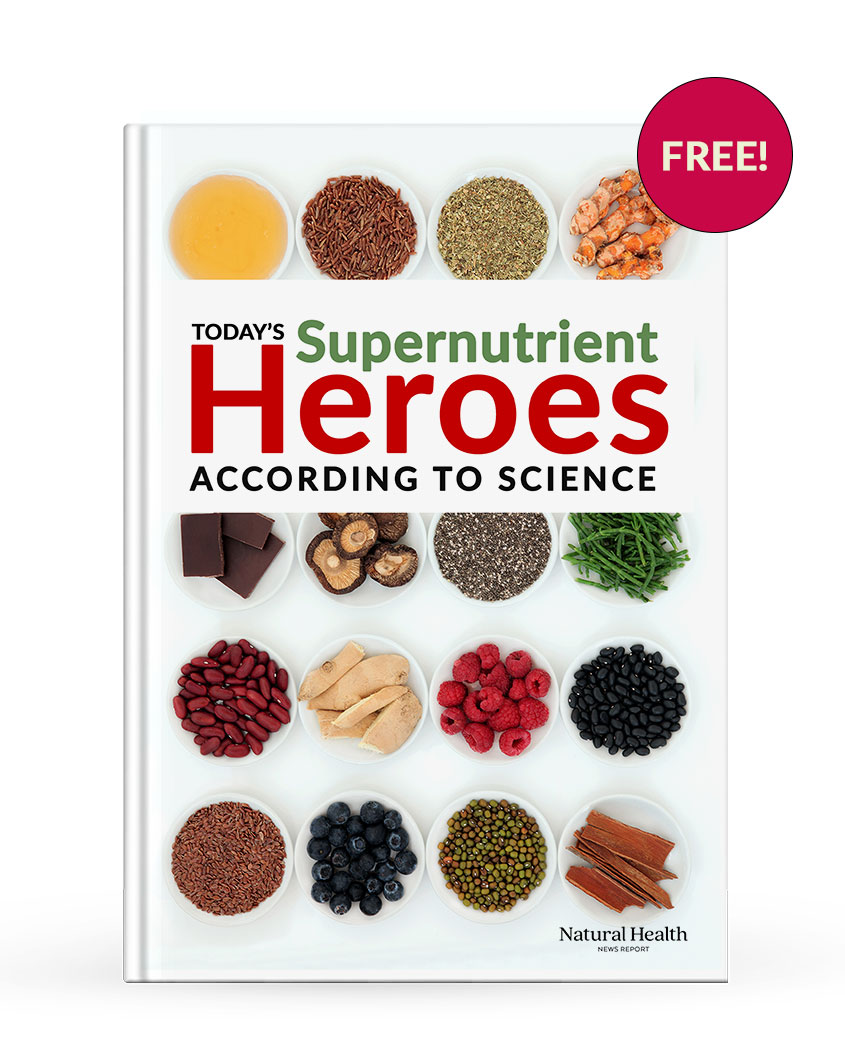 Supernutrient Heroes According to Science report cover